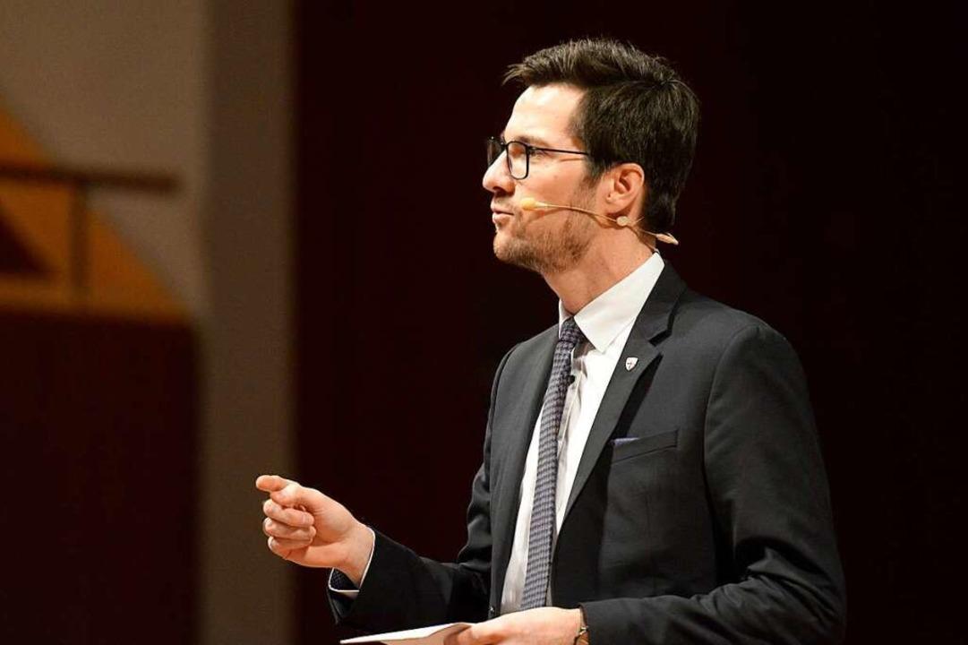 Bebauungsbefürworter  OB Martin Horn  | Foto: Ingo Schneider
