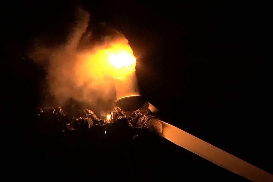 Feuer in der Nacht  | Foto: Wolfgang Künstle