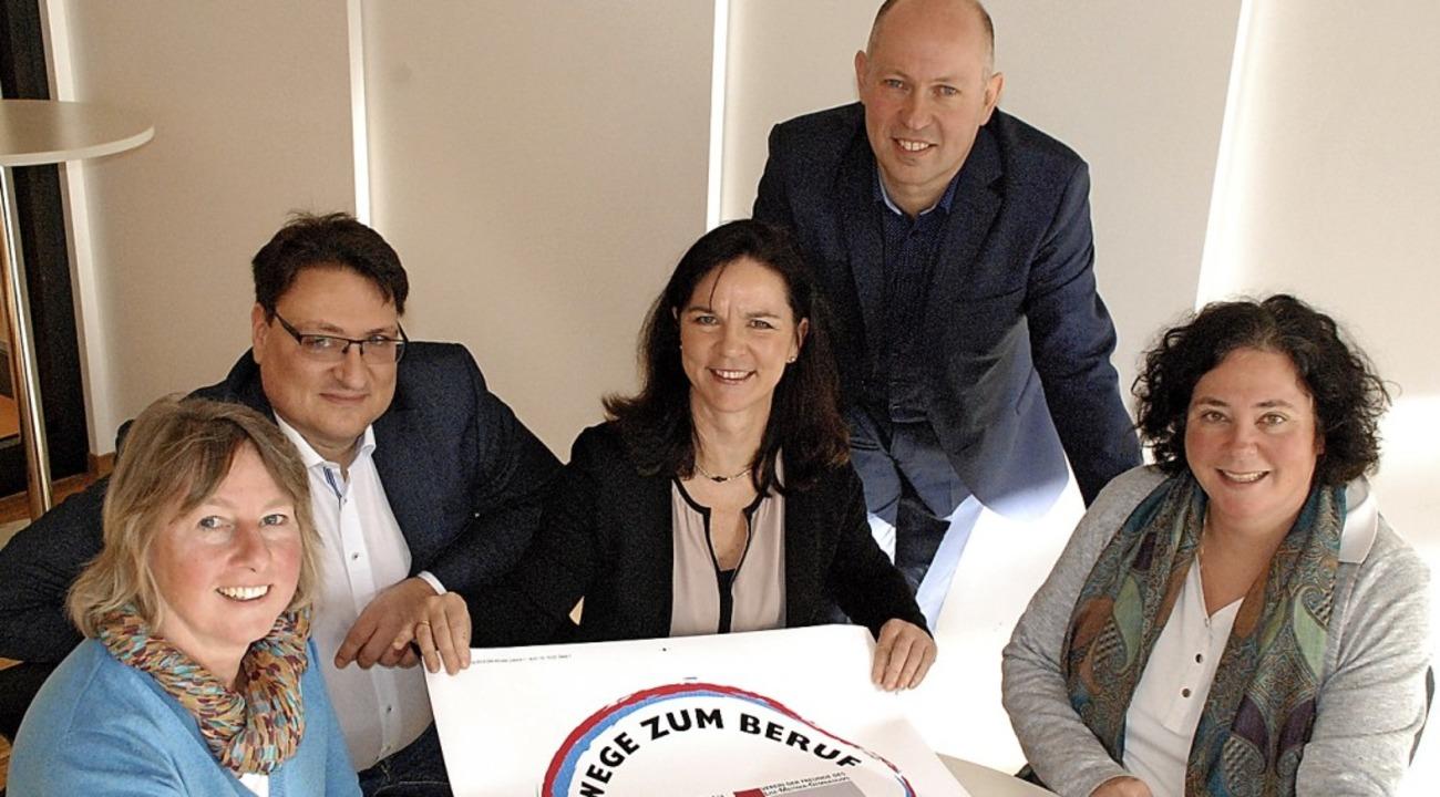 Für die Ausbildung engagiert (von link..., Christoph Bigler und Stephanie Kast   | Foto: Tolsdorf