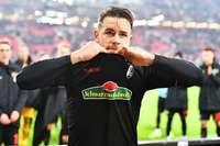 Der Einsatz von Christian Günter gegen Wolfsburg ist fraglich