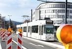Fotos: Tram-Testfahrt auf der neuen Rotteckstrecke