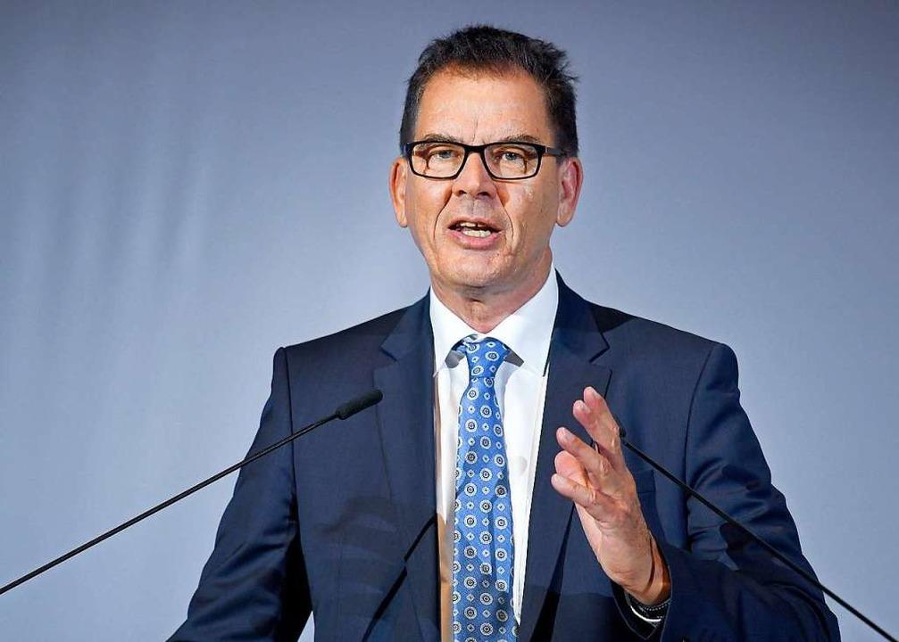 Bundesentwicklungsminister Gerd Müller   | Foto: DPA