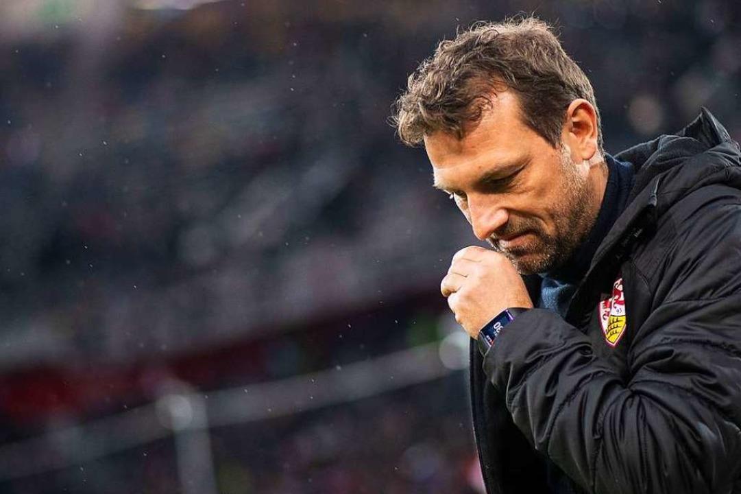 VfB-Trainer Markus Weinzierl    Foto: dpa