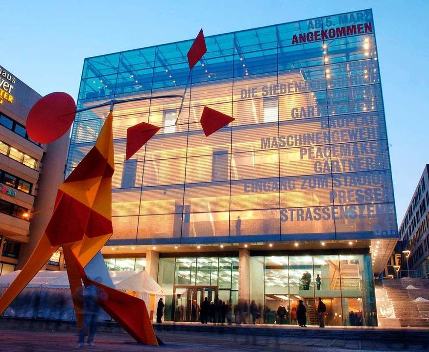 Auch im Kunstmuseum Stuttgart ist teure Kunst zu sehen.   | Foto: dpa