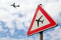 25 Flüge sind am Euroairport wegen des Sturms ausgefallen