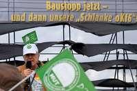 Bahnkritiker fordern in Auggen einen Stopp der Bauarbeiten
