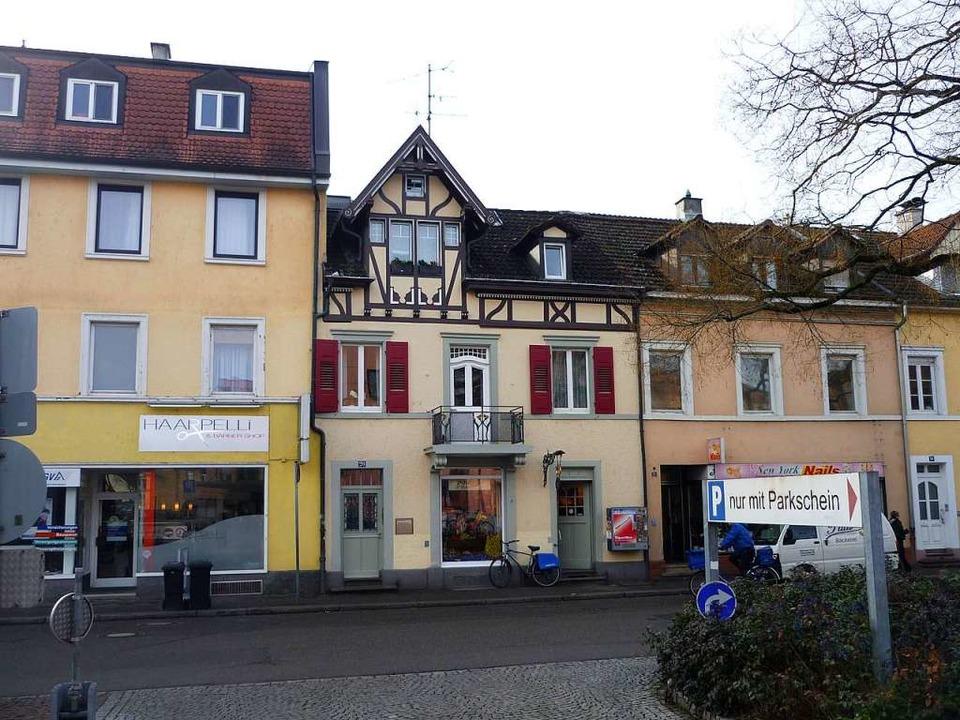 Das jetzige Gebäude der Bäckerei Paul in der Palmstraße  | Foto: Thomas Loisl Mink