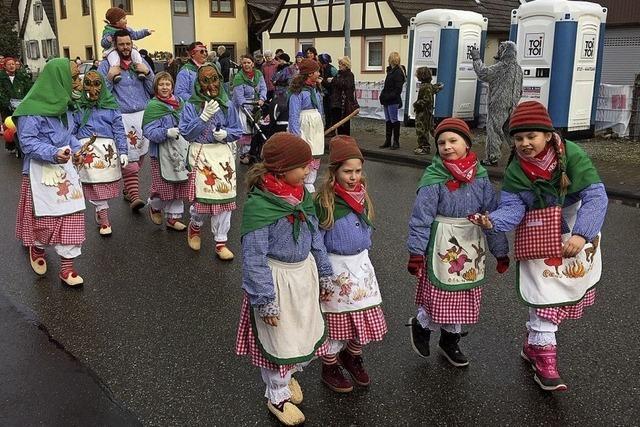 Narrenzunft Oberhausen zufrieden mit dem Jubiläum