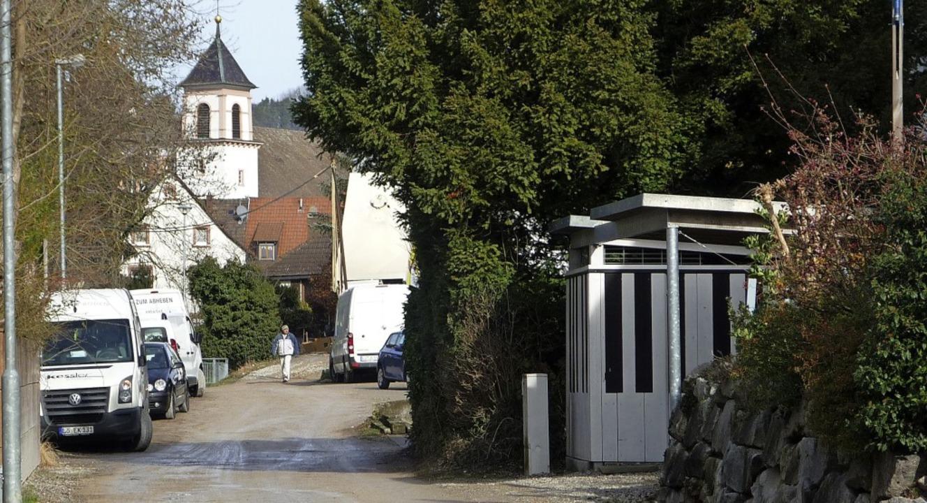 Für den Ausbau der Rebgasse in Stetten kalkuliert die Stadt 505000 Euro.     Foto: Thomas Loisl Mink