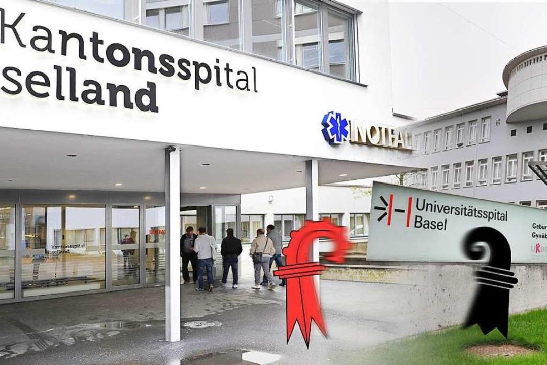 Die Fusion der Spitäler ist endgültig geplatzt.    Foto: ZVG Kantonsspital
