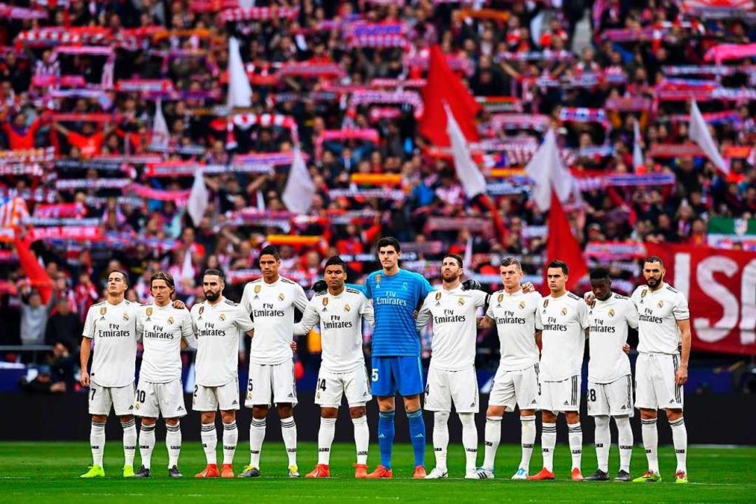 Gehaltskönige: Real Madrid bezahlt sei... mehr als jeder andere Klub in Europa.  | Foto: AFP