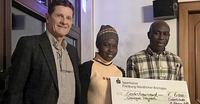 Sportler sammeln für den Senegal