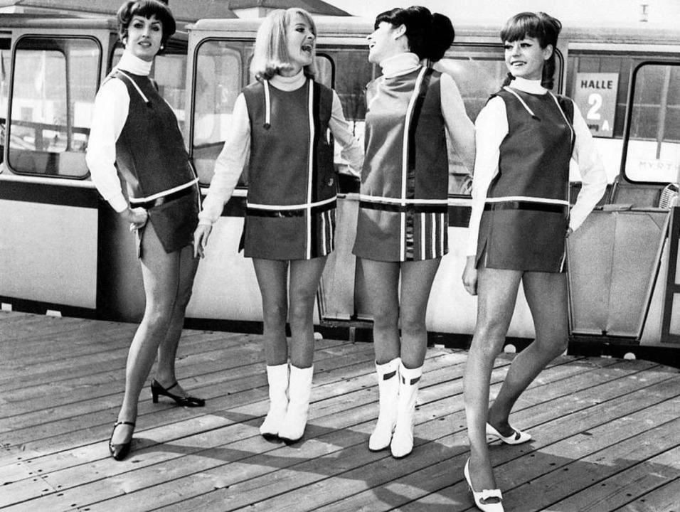 Die Mini-Mode der 60er Jahre: Gerade g...findung die Gesellschaft auf den Kopf.  | Foto: ImageForum