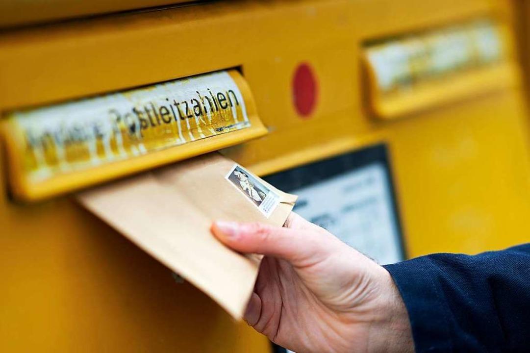 Das Briefporto wird in diesemJahr all...sicht nach teurer als bisher erwartet.    Foto: dpa