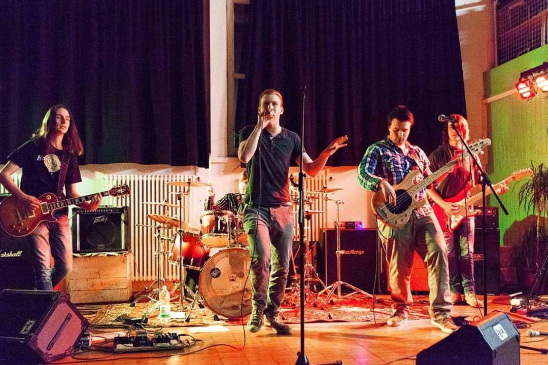 Drive In bei einem Konzert im Haus der Jugend in Kollnau 2013.  | Foto: Gabriele Zahn