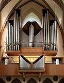 Traugott Fünfgeld lädt zum Feierabendkonzert auf die Orgelempore