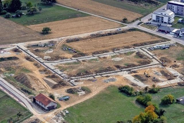 Rust schafft neue Bauplätze