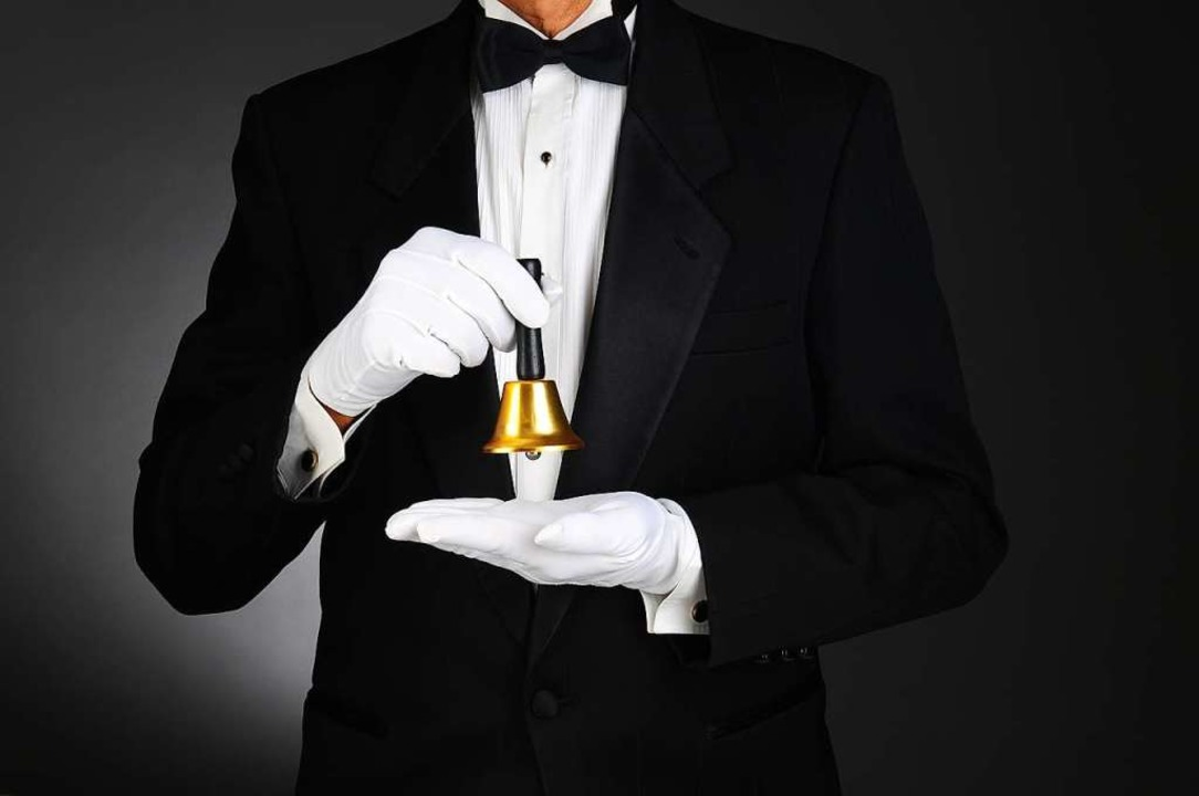 Perfekte Umgangsformen sind für Butler ein Muss.    Foto: Steve Cukrov