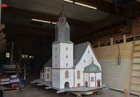 Ein Gebäude für das Modell
