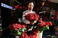 Der Valentinstag ist in Blumenläden ein Großkampftag