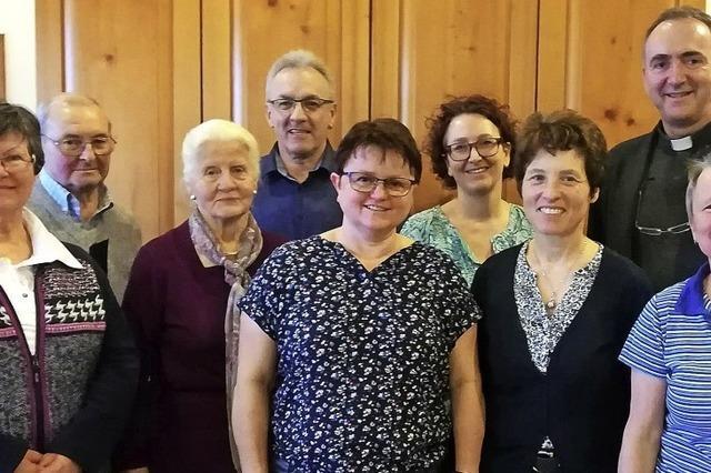 Viele Jahre im Dienst der Kirche