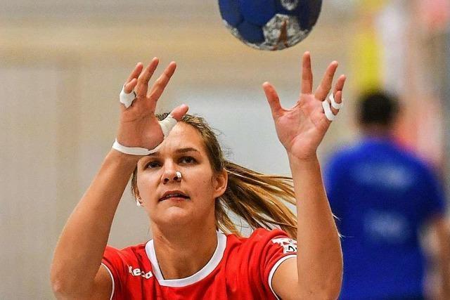 Denise Schwaiger lässt sich bei der HSG Freiburg nicht unterkriegen