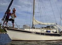 Amrei und Sascha Flum berichten von ihrer Segelreise