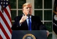 Trumps Trick mit dem Notstand ist das Manöver eines Verzweifelten