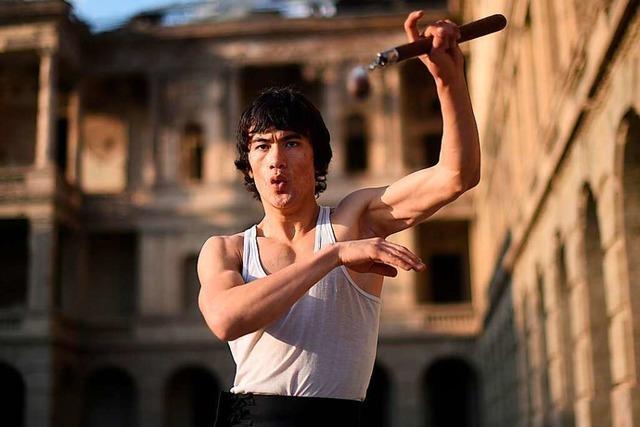 Kickbox-Marxisten sicher: Auch Bruce Lee hätte gegen Dietenbach gestimmt