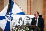 Fotos: Der FC Schalke 04 trauert vor dem SC-Spiel um Rudi Assauer