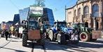 Fotos: Traktor-Demo gegen Dietenbach am Platz der Alten Synagoge