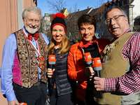 Prächtiges Narrentreffen in Offenburg