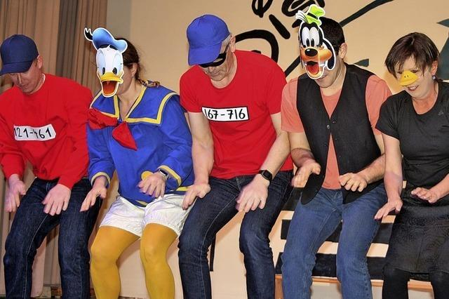 Wenn Donald Duck zum Tanz bittet