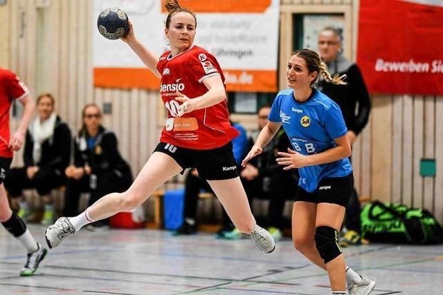 Die Freiburger HSG-Handballerinnen stehen vor dem Aufstieg in die 2. Liga