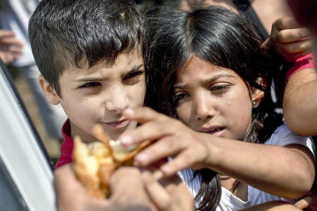 Brot für die überfüllten Lager
