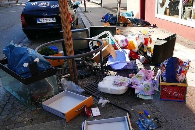 Sperrmüll-Chaos ist ein Ärgernis in Rheinfelden