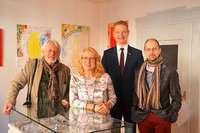 Richard Ciesielski, Iris Friedmann und Stanislaw Friesen stellen in Herbolzheim aus