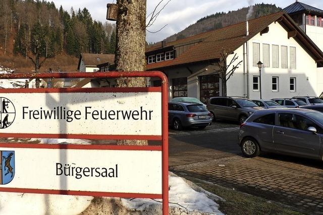 Bürgersaal reserviert für Einheimische