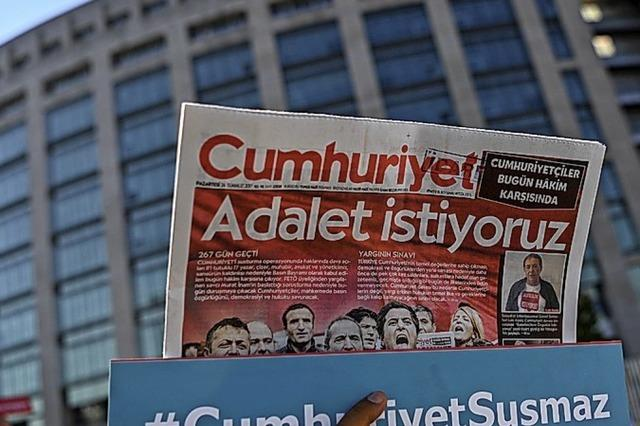 Haft für Journalisten