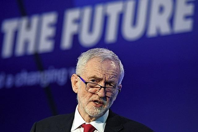 Es knirscht im britischen Parteiengefüge