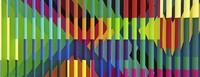Satte Farben, Anlehnung an Architektur: Die Installationen der portugiesischen Künstlerin Marisa Ferreira in der Galerie Messmer