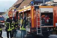 Motorroller in Hägelberg brennt lichterloh