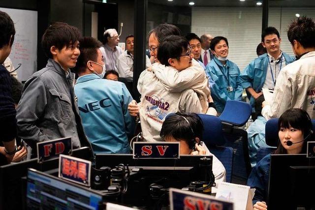 Japanische Raumsonde Hayabusa2 landet auf Asteroiden