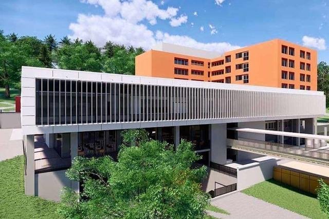 So soll das Emmendinger Kreiskrankenhaus nach dem Umbau aussehen