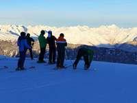 Fotos: Skifahren am Hochzeiger im österreichischen Pitztal