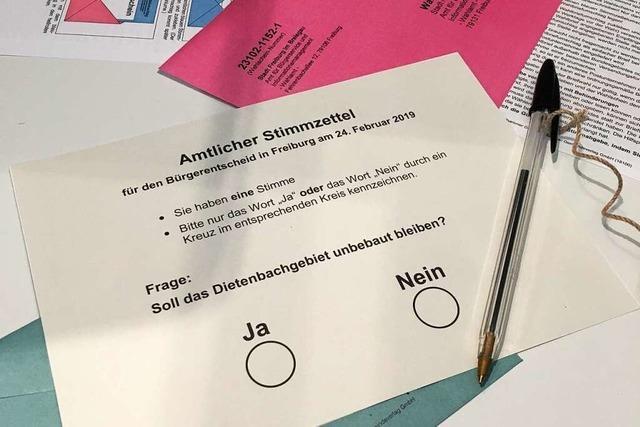 Alle Infos zum Wahlsonntag über den geplanten Stadtteil Dietenbach