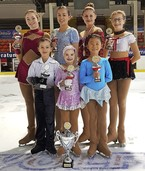 Pokalsieg im Eiskunstlaufen
