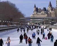 Fluchtpunkt Rideau Canal Ottawa