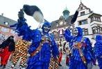 Fotos: Narren erstürmen das Freiburger Rathaus