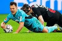 """Nils Petersen: """"Arbeit gegen den Ball hat uns erschöpft"""""""
